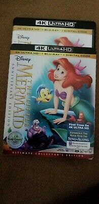 The little mermaid4K disc only. Shipped in original case.No slipcover.No digital