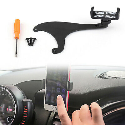 360°Rotation Car Phone Mount Cradle Holder Stand Kit For Mini Cooper F60 Rray T3