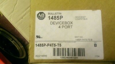Allen Bradley 1485P-P4T5-T5 4-Port Devicebox