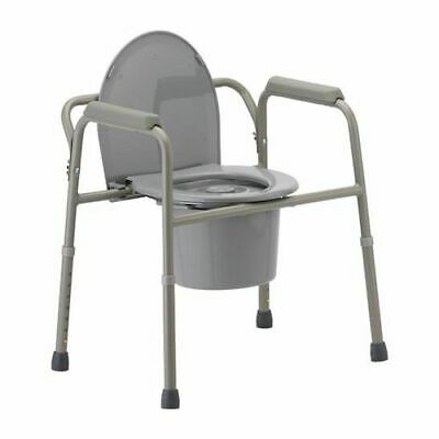 Invacare All-In-One Aluminum Commode Seat Height 30'' - 36'' -1 Count