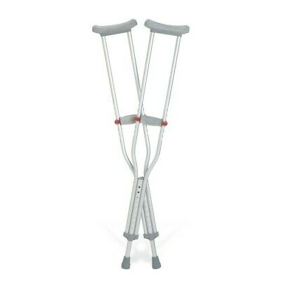 The Guardian Quick-Fit Adjustable Auxiliary Crutches, Child, 1 Pair