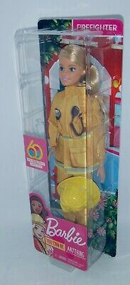 2019 Barbie 60th Anniversary Firefighter Doll