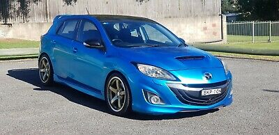 2009 Mazda 3 Mps Luxury Manual 2.3L Turbo Hot Hatch Sports Car A1 Lowered Mags