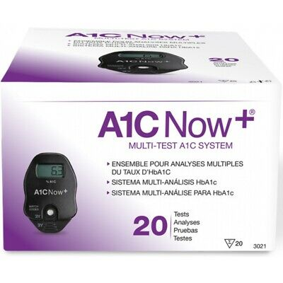 Multi-Test A1C System ''1 Count, 20 Tests'' 6 Pack