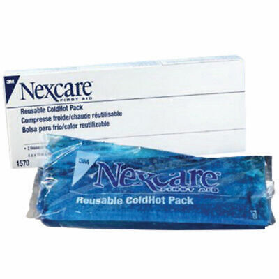 3M Nexcare Reusable Hot/Cold Therapy Pack 4 X 10 Inch -4 PACK