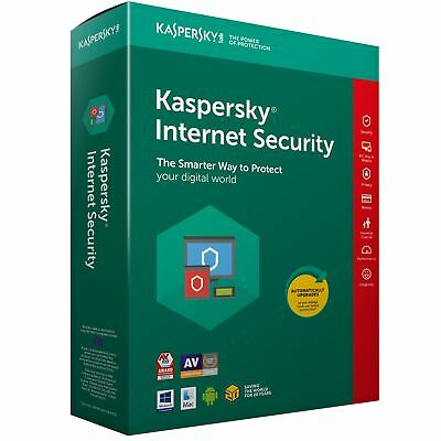 Kaspersky Internet Security2018 2019-1 PC1-Year-DOWNLOAD-WINDOWS-MAC-Licence EU