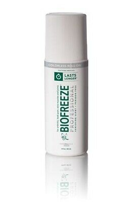 Biofreeze Cold Therapy Pain Relief Roll-On 3 oz.