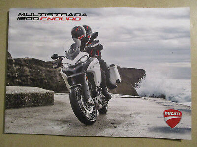 Catalogue Moto : Ducati : Multistrada 1200 Enduro 01/2017