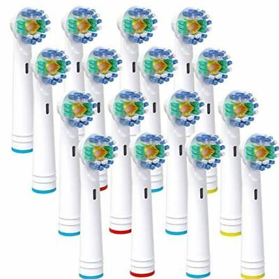 Electric Tooth Brush Dual Clean Toothbrush Brush Heads for Braun Oral-B EB-18A