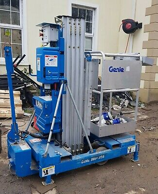 Genie lift iwp-20s   8 metre  with powered steering also. (ideal for studio)