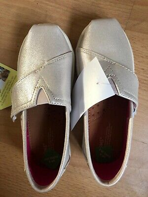 Silver Toms Girls Shoes Toddler Size 9 Kids
