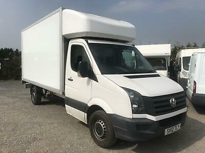 VOLKSWAGEN CRAFTER TDi 143 L3H1 LWB CR35 14ft LUTON 2012 90,000 miles