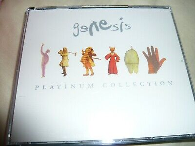 Genesis - Platinum Collection - 3xCD - ( Hits/Best of/Singles/Collins/Gabriel )