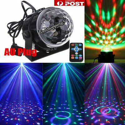 Party Laser DJ Lights LED Stage Lighting Crystal Magic Ball Effect Bar Disco RGB