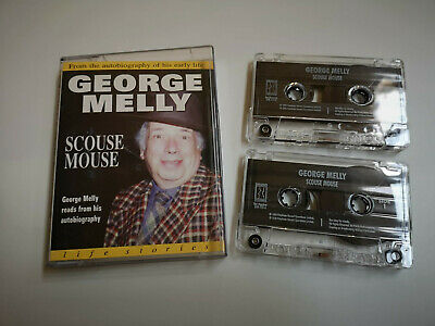 George Melly - Scouse Mouse Audiobook on Double Audio Cassette