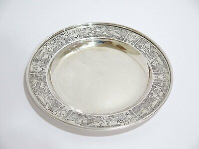 6 3/8 in - Sterling Silver William B. Kerr & Co. Antique Fairy Tales Baby Plate