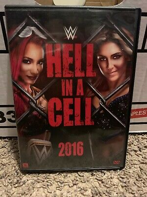 WWE: Hell in a Cell 2016 (DVD, 2016) Not a Scratch!! USA not IMPORT!!