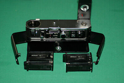 NIKON MD-2 MOTOR DRIVE plus MB1 BATTERY PACK FOR F2 CAMERA, VERY NICE CONDITIONS