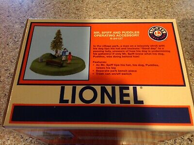 Lionel part ~ Bench ~ Mr Spiff and Puddles