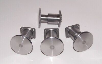 "7 1/4"" gauge - Set of 4 Wagon Buffers for live steam"