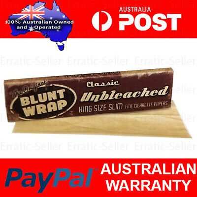 Blunt Wrap King Size Slim Classic Rolling Papers Smoking Cigarette Tobacco Smoke