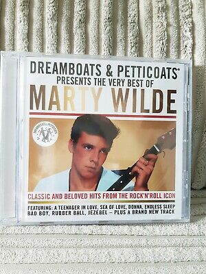 Dreamboats And Petticoats Presents: The Best Of Marty Wilde (CD)