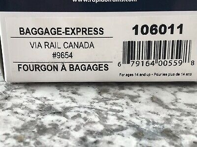 HO Scale Rapido Via Rail Canada #9854 Baggage-Express 106011 Excellent