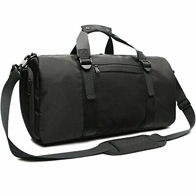 71cd000090 Oflamn Sports Sac de Sport avec Compartiment à Chaussu(2.0 Grand Noir - 33l)