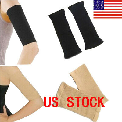 c7dd01ea9f Compression Slim Arms Sleeve Shaping Arm Shaper Upper Arm Supports 2Color  US DD
