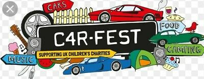 Carfest North 2019 2 adults & 1 child weekend with camping and big early tickets