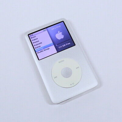 Apple iPod Classic Silver 120GB 7th Generation Slim MP3 WARRANTY IMMACULATE
