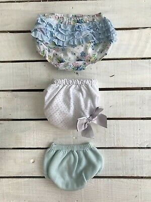 18-24 Month Baby Girl Summer Over Nappy Knickers Shorts Bundle 💗