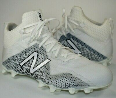 aba1e24b2 NWT New Balance Freeze LX White Lacrosse Cleats 2E FreezWT Shoes Mens Size  11