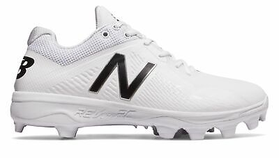 New Balance Low-Cut 4040v4 Elements Pack TPU Baseball Cleat Mens Shoes White