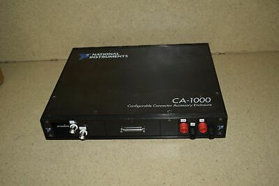 ^^ National Instruments Ca-1000 Configurable Connector Accessory Enclosure (Hh)