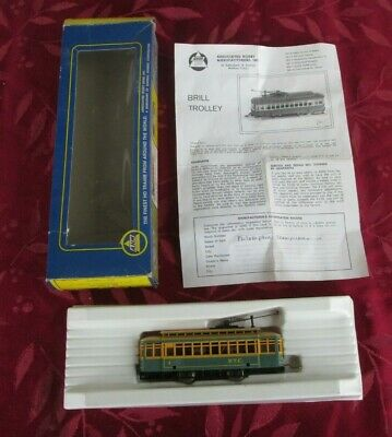 AHM Ho Scale  Brill Trolly # 5301 D P.T.C.  In original box- Phila Transit Co.