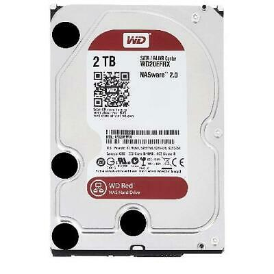 WD Red 2TB NAS  64MB 3.5' 5400RPM SATA3 6Gb/s 64MB Cache