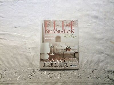 new elle decoration magazine july 2018 collector's condition