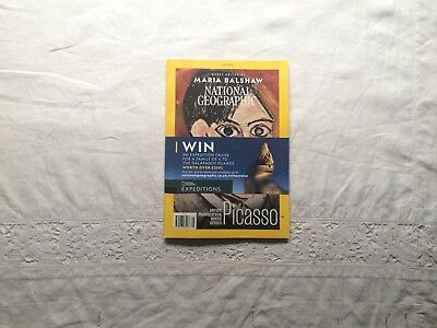 new national geographic magazine may 2018 the evolution of picasso rrp £5.99