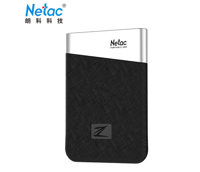 Netac SSD 960GB 480GB 240GB Solid State Drive Z6 Protable Type-C  External