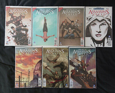 Assassin's Creed Uprising #1-3 - Assassin's Creed Reflections #1-3 - Titan Books