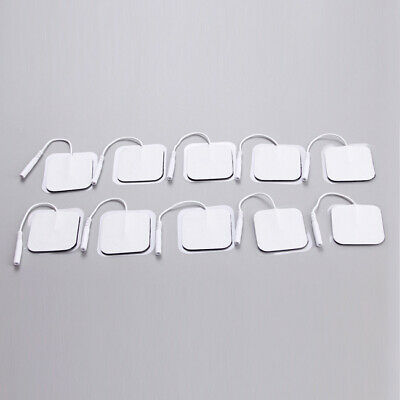 "Electrode Pads Replacement Tens Tens Units 1.57"" Electrode Silica Gel Massagers"
