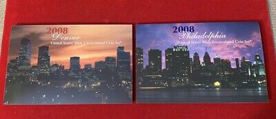 2008-P&D United States Mint Uncirculated Coin Sets