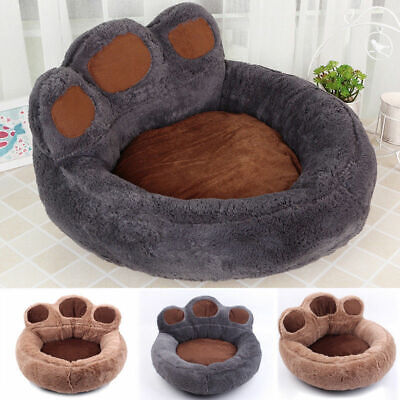 Large Fleece pet Dog Cat Rest Bed Puppy Cushion House Sleep Kennel Paw Blanket'8