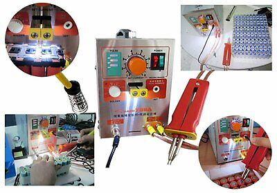 LED Pulse Battery Spot Welder Spot Welding Machine 110V/220V for Battery
