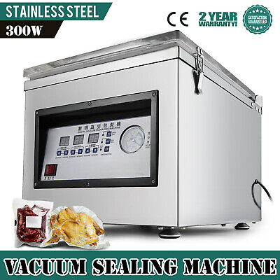 DZ-260C Digital Vacuum Packing Sealing Machine Sealer System Food Kitchen GOOD