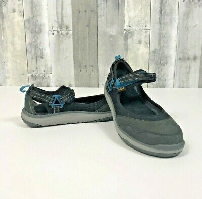 7fd3c6e792fe TEVA Womens Terra Float Travel MJ Water Shoes Black Flats Mary Janes Size  8.5