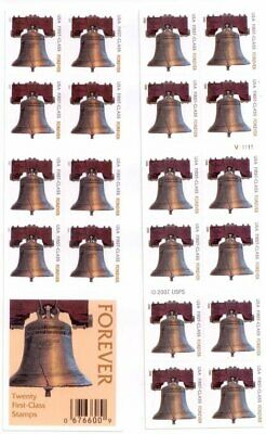 20 LIBERTY BELL FOREVER Stamps. CHEAPEST POSTAGE ON EBAY! CERTIFIED New in Wrap