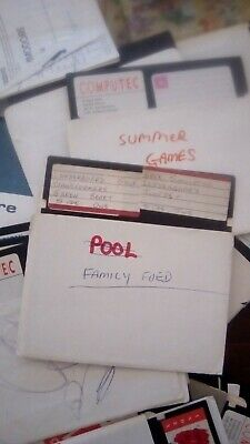 COMMODORE 1541-II floppy disk games x approx 100 PLUS classical Games!!