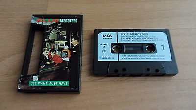 Blue Mercedes - See Want Must Have (Rare Deleted 1988 Cassingle) Pwl